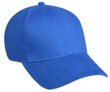 6 Panel Brushed Cotton Twill Structured